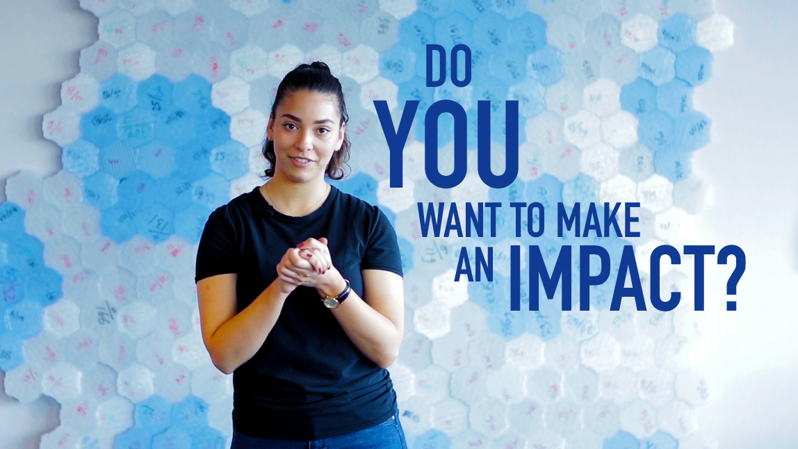 Do you want to make an impact?